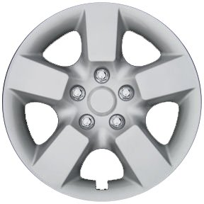 CCI IWC443-16S 16 Inch Clip On Silver Finish Hubcaps - Pack of 4