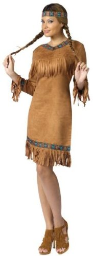Native American Costume - Small/Medium - Dress Size 2-8