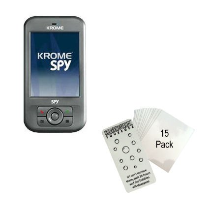 Clear Anti-glare Screen Protector for the Krome Spy - Gomadic Brand