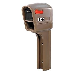 Step2 595200 MailMaster Plus Mailbox, Walnut