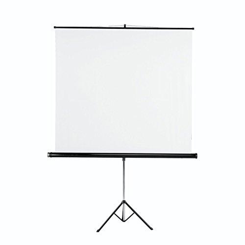 Hama 018790 - Pantalla de proyección, 125x125 cm, color blanco