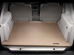 WeatherTech Custom Fit Cargo Liners for Cadillac Escalade, Tan