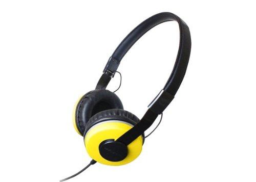 Zumreed Zhp-500 Compact Foldable Stereo Headphones, Yellow