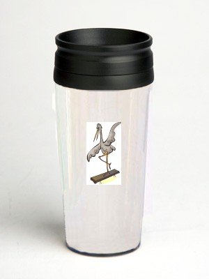 16 oz. Double Wall Insulated Tumbler with sporting bird - Paper Insert