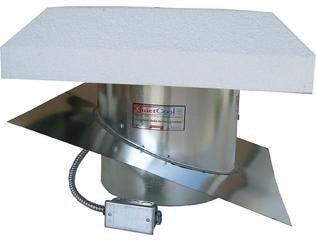 QC Manufacturing QuietCool RM ES-2200SLP QuietCool Fan - Roof Mount w/ 16