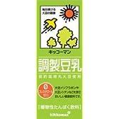キッコーマン 調製豆乳 200ml紙パック×18本入×(2ケース)