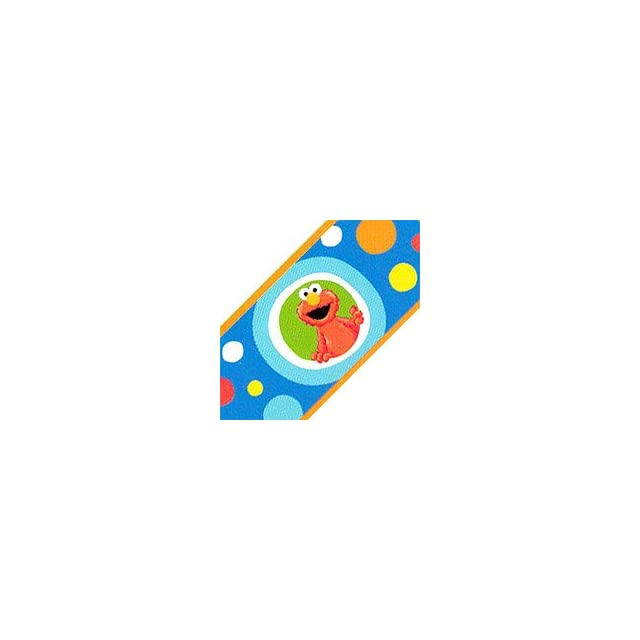 Sesame Streets Elmo   Big Dot   Kids Wallpaper Border