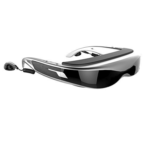 TTLET 3D Goggles VR Support FHD 1080P Mobile Theatre 98 Inch Virtual Display Video Glasses Screen 16:9 8GB AV in HDMI Directly