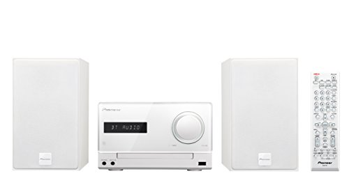 Pioneer-X-CM35BT-W-Micro-Hifi-System-2x-15-Watt-Bluetooth-NFC-Front-USB-CD-Streaming-App-wei