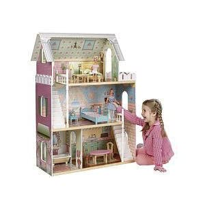 Barbie Doll House Furniture Imaginarium Cozy Country Wooden Dollhouse Toys R Us Exclusive Price
