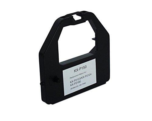 KMP 672R Ruban encreur Nylon HD compatible Panasonic KXP2123/2124 Noir