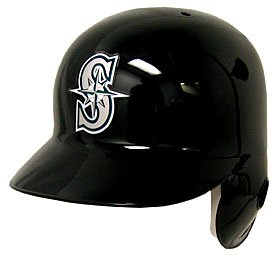Seattle Mariners Left Flap Official Batting Helmet by Caseys