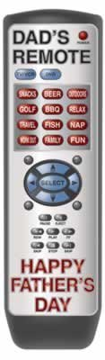 Beistle 55884 Father's Day Remote Control Cutout, 20-Inch
