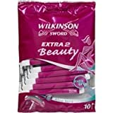 Extra 2 Beauty by Wilkinson Sword Disposable Razors