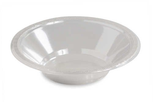 Clear 12 Oz. Plastic Bowl 20 Ct Heavy Duty