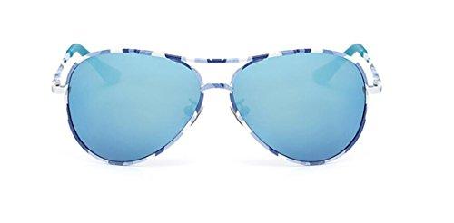 a41ec4f977 GAMT Children s Classic Aviator Polarized Sunglasses Frog Mirror Blue