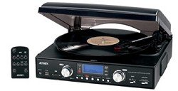 Why Choose The Jensen JTA-460 3-Speed Stereo Turntable with MP3 Encoding System and AM/FM Stereo Rad...