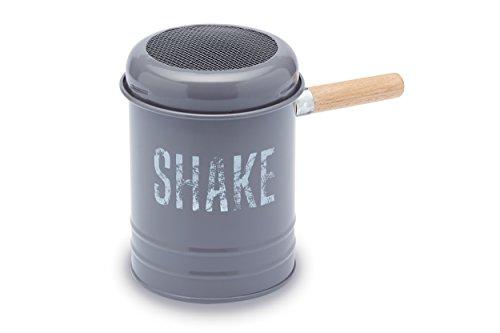 Paul Hollywood par Glaçage Kitchen Craft Tamis à farine/sucre Shaker, 10x 13,5cm (10,2x 14cm)-Gris