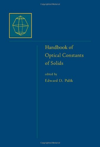 Handbook of Optical Constants of Solids