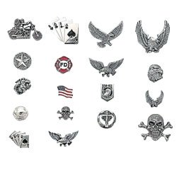 18PC SET ASSORTED MOTO PINS