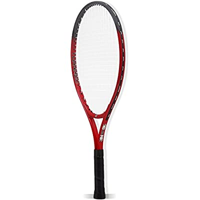 Burn 500014 Tennis Racket with Cover (Red)