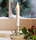 4-Pack Battery-Operated Single Window LED Window Candles