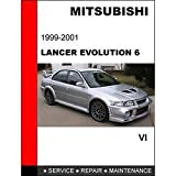 Mitsubishi Lancer Evolution VI 2000 2001 2002 Service Repair Workshop Manual