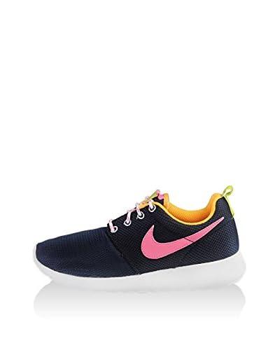 Nike Sneaker Jr Rosherun Gs [Arancione/Bianco]