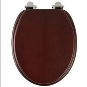 Roper Rhodes Traditional Soft Close Toilet Seat Solid Mahogany