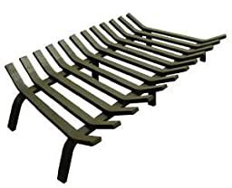24\'\' Lifetime Fireplace Grate - Extra Heavy-Duty