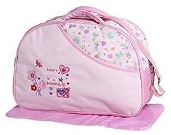 A'la Mode Creation Diaper Bag Pink