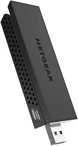 Read About Netgear AC1200 Wi-Fi USB Adapter High Gain Dual Band USB 3.0 (A6210-100PAS)