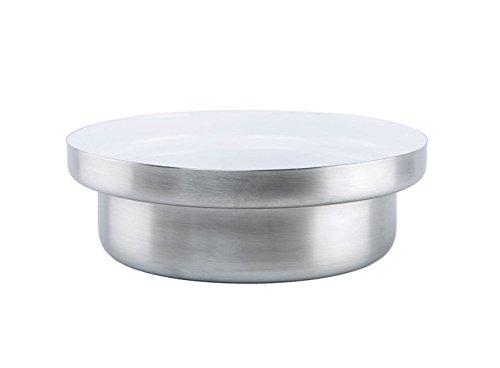 KnIndustrie Whitepot - Low Casserole Ø10.2 Steel - White