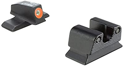 Trijicon BE114-C-600773 Beretta PX4 Compact HD Night Sight Set, Orange Front Outline from Trijicon