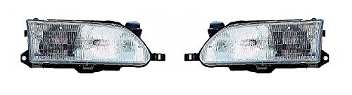 93 94 95 96 97 Toyota Corolla Headlamp Headlight Pair Set Driver and Passenger (94 Toyota Headlights compare prices)
