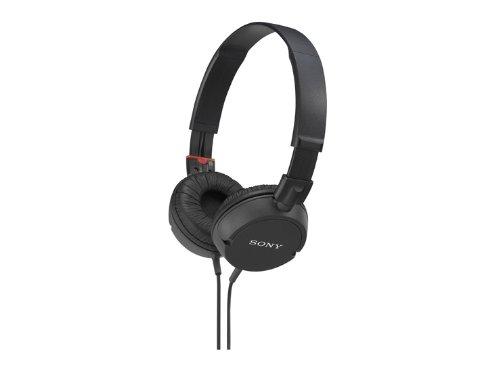 Sony Stereo Headphones Mdr-Zx100 Black   Swivel Holding Overhead (Japan Import)