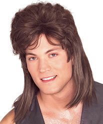 Mullet Wig Costume Accessory