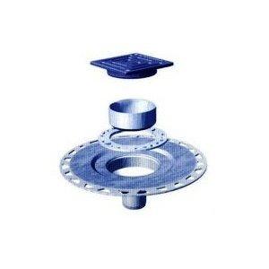 Schluter Kerdi Drain Oil-Rubbed Bronze Pvc Version front-998245