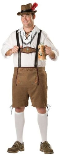 Men'S Costume: Oktoberfest Guy- Plus 2X Large