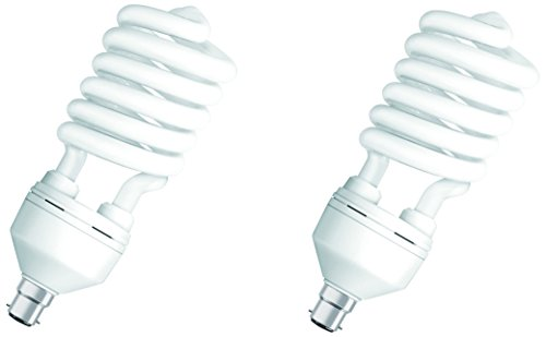 Osram-65W-B22D-Spiral-CFL-Bulb-(White,-Pack-of-2)