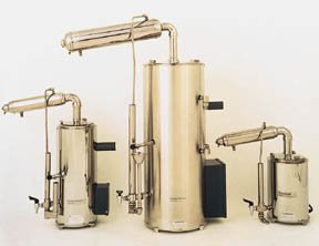 Barnstead Classic Electric Stills; 240V 60Hz5; output: 5 gal./hr. (19L/hr.) by Thermo Scientific
