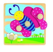 Holzpuzzle Schmetterling