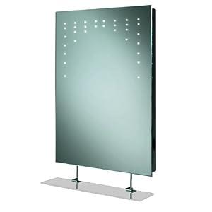 Model Supplies Bathroom Mirrors Shaving Mirrors Hib Celeste With Glass Shelf
