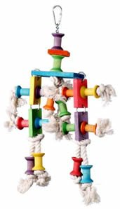 Super Bird Creations Dancing Spools Bird Toy