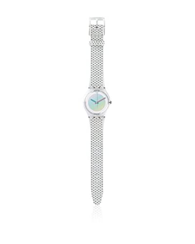 Swatch Orologio al Quarzo Unisex White Rave 34 mm