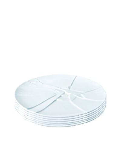Pordamsa Set of 6 Handmade Porcelain 8.25″ Trencadis Tasting Plates