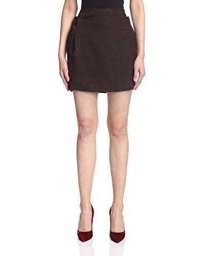 The Kooples Women's Jacquard Weave Tulip Skirt