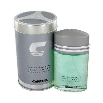 Carrera by Muelhens for Men - 3 Pc Gift Set 3.4oz EDT Spray, 6.8oz Shower Gel, 6.8oz After Shave Balm by Muelhens