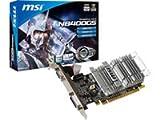 MSI N8400GS-D1GD3H NVIDIA GeForce Grafikkarte (PCI-e, 1024MB...