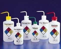 Right To Know Safety Wash Bottles